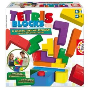 Educa Borrás- Tetris Blocks Juego de Mesa, Color Variado, 5+ (14679)