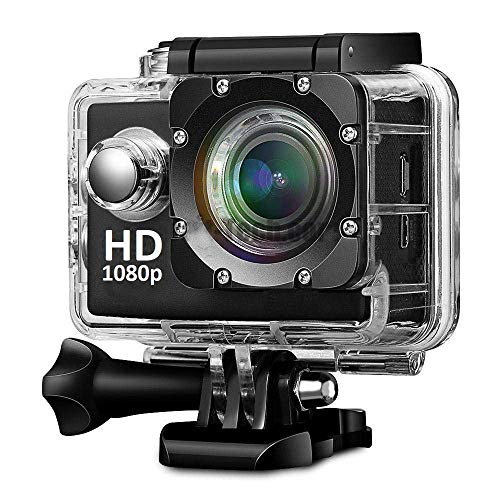 Mobile Link Sports Action Camera Video Camera Waterproof Digital Cam Car Dash Cam Full HD 1080P 12MP 25fps 30fps Helmet Mount Accessories Camera Kit 2 inch LCD Screen
