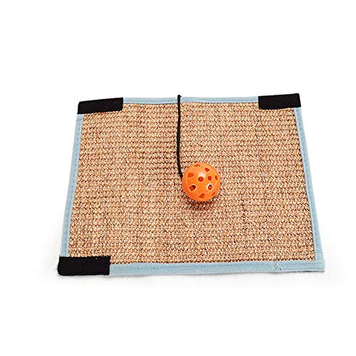 Ogquaton Tappetino per tappetino per graffi di alta qualità Tappetino Cat Loop Tappeto Scratcher...