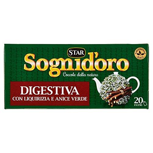 Sogni d'Oro Tisana Digestiva con Anice, Liquirizia e Menta - 40 gr
