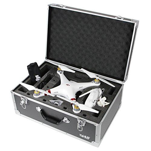 HMF 18601-02 Valigetta di trasporto, adatta per drone Phantom 3 Standard, Professional, Advanced, 5...