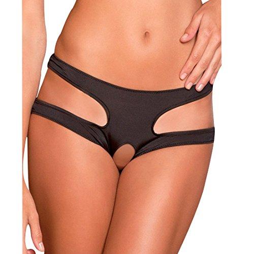 size 40 a8063 9f46c iEFiEL Sexy Damen Reizwäsche Dessous Ouvert Offene Slips Pants Panty  Hipster Nachtwäsche G-String Unterwäsche Lingerie M-XXXL - DAMENSTORE24