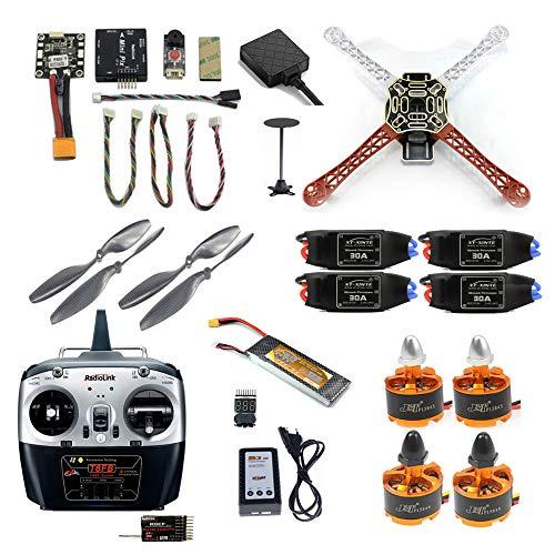 FEICHAO FAI DA Te Drone F450 Mini RC Hexacopter Disassemblare Kit 2.4G 8CH FPV Upgrade con Radiolink Mini PIX M8N GPS Altitude Hold Modello