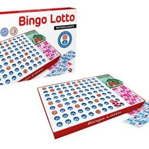 Falomir Bingo Lotto, Juego de Mesa, Clásico (11519)