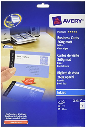 Avery c32015 10 printable double sided business cards 8 cards per avery c32015 10 printable double sided business cards 8 cards per a4 sheet colourmoves Images