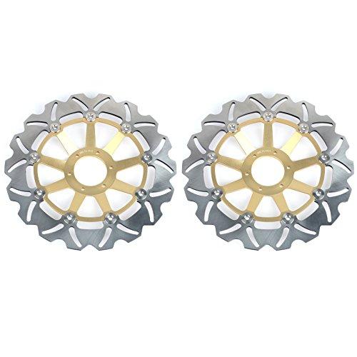 TARAZON Rotori Disco Freno Anteriore per CB600F CB 600 FHornet 599 2000 2001 2002 2003 2004 2005 2006, Set di 2 dischi