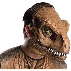 Rubies- Máscara Movible T-Rex Adulto, Talla única (68058)