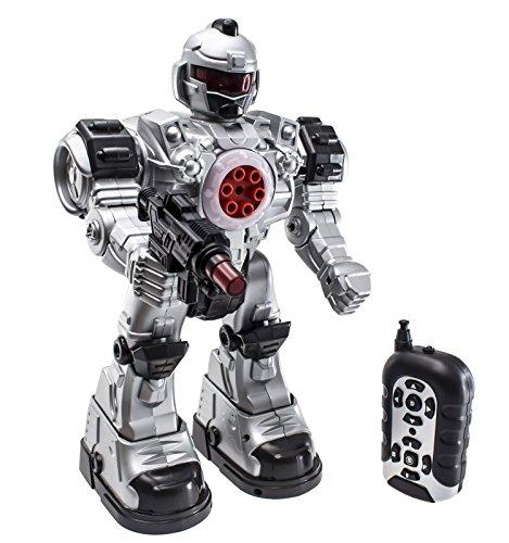 51dSP6dABnL - deAO Robot Teledirigido Beast Ares Interactivo con Acciones Múltiples y Efectos de Luz y Sonido Incluye Dardos de Plástico