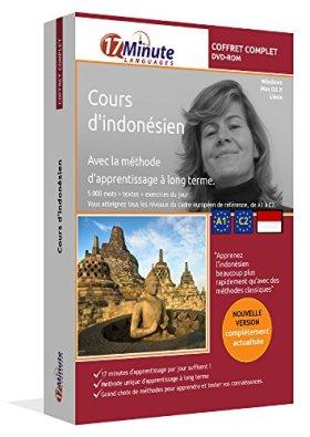 Cours d'indonésien : coffret complet (A1-C2). Logiciel pour Windows/Linux/Mac OS X. Apprendre l'indonésien avec la méthode unique d'apprentissage à long terme