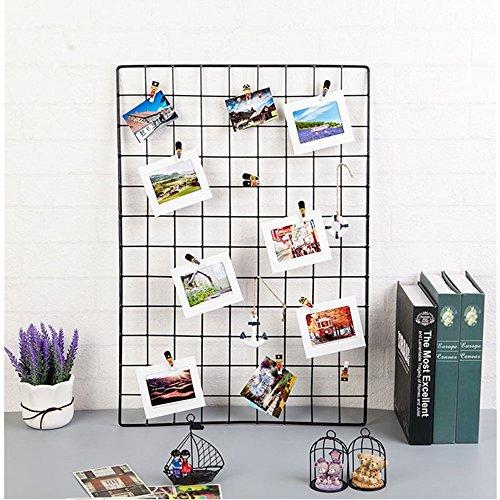ShouYu DIY Pannello griglia,griglia parete,Ins Mesh Decorazione foto parete,multifunzione griglia...