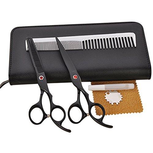 BESTOMZ Forbici per Capelli Kit Forbici Parrucchiere Professionale
