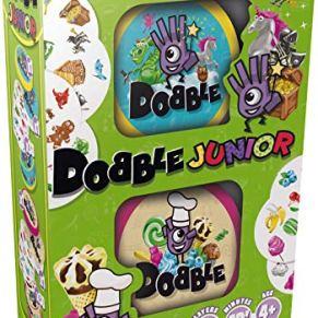 Zygomatic Dobble Junior Juego de Cartas (Texto en inglés)