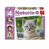Diset- Puzzle Naturin-Photo Animals Foto Animales, Multicolor (69978)