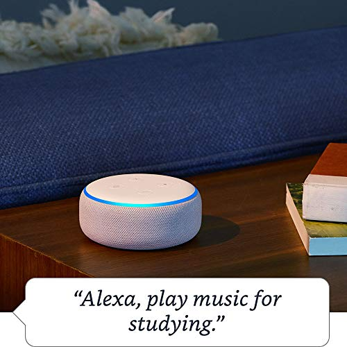 Echo Dot (3rd Gen) - Smart speaker with Alexa - Charcoal Fabric 5  Echo Dot (3rd Gen) – Smart speaker with Alexa – Charcoal Fabric 51djSIQe9zL