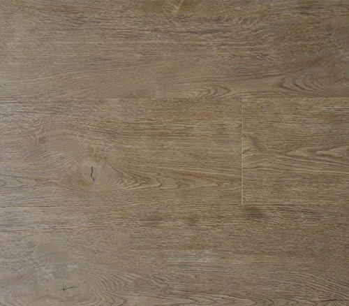 Lame per pavimenti morbidi a clip - parquet in PVC ad alto traffico - legno marrone/grigio