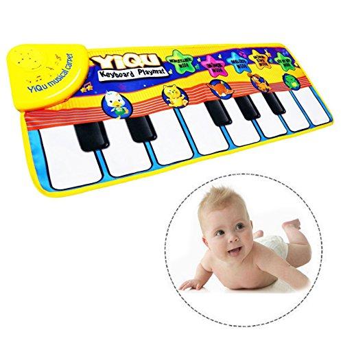 Alfombra musical piano para bebé