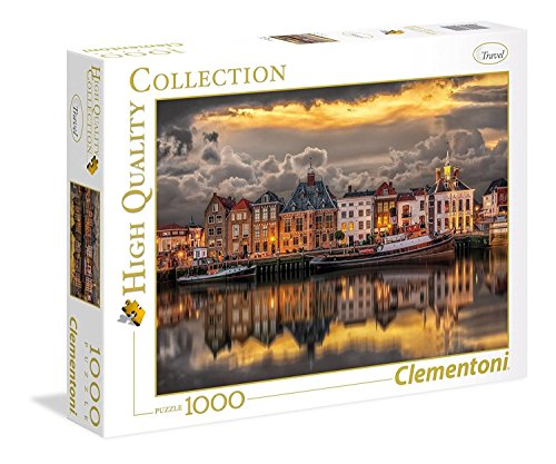 Clementoni Collection Puzzle Dutch Dreamworld, 1000 Pezzi, 39421