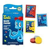 tinti de baño agua color 3Pack (1x Azul, 1x amarillo, 1x Rojo)