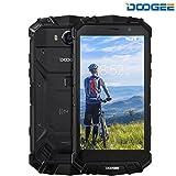 """Smartphone Libre, DOOGEE S60 4G Android 7.0 Nougat Rugged Moviles Libre (5.2"""" FHD, IP68, Procesador Helio P25, Ocho Núcleos, Batería 5580mAh, 6GB RAM+64GB ROM, Cámara Trasera de 21MP con Sensor Sony IMX230, Sumergible, Anti-golpes y Anticaídas) - Negro"""