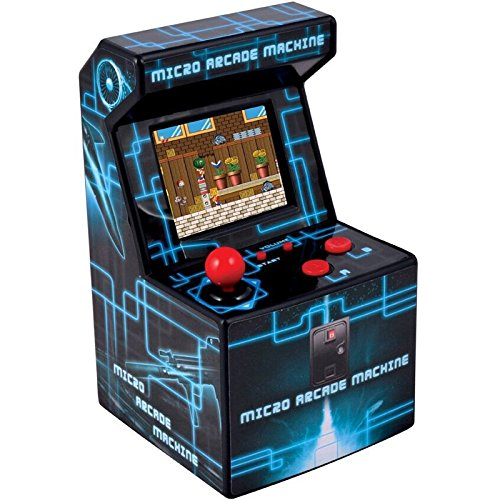 ITAL - Mini Arcade Macchina, 250 Giochi,16 Bit