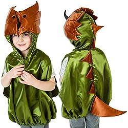 Lucy Locket - Disfraz/Capa de Dinosaurio (3-8 años)