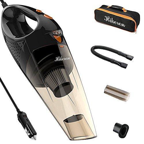 Aspirapolvere per Auto [Con Luce a LED] Hikeren 12 V 106W 5000PA Aspirapolvere Multifunzione...