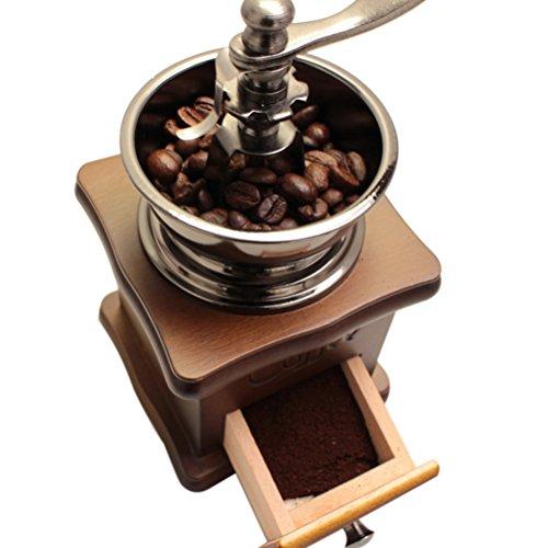 nuolux manuel caf main meuleuse pice herbes style vintage burr r tro en bois moulin caf en. Black Bedroom Furniture Sets. Home Design Ideas