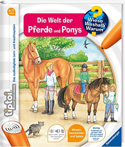 Ravensburger tiptoi Band 13 - Die Welt der Pferde und Ponys (tiptoi® Wieso? Weshalb? Warum?, Band 13)