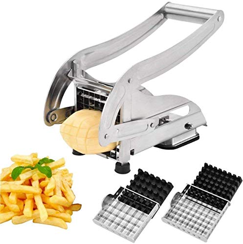 Potato Vegetable Slicer French Fry Cutter & Chips Cutter