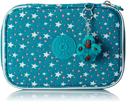 Kipling 100 PENS Astuccio, 21 cm, 1.5 liters, Multicolore (Cool Star Girl)