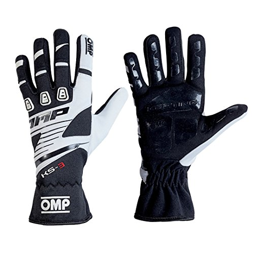 OMP ompkk02743e076l KS-3Guanti my2018Nero/Bianco SZ L
