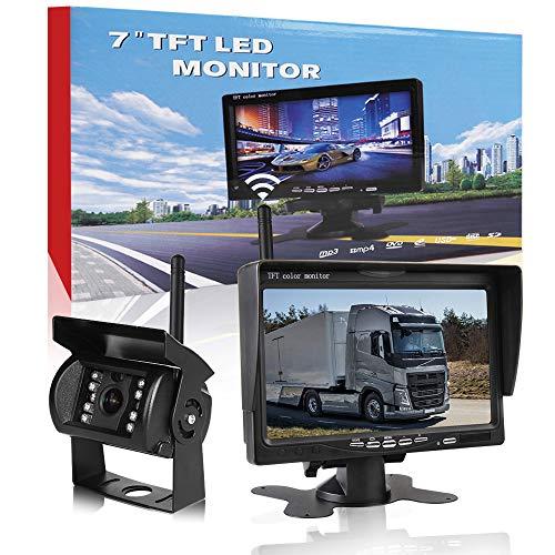 CAR ROVER Senza Fili Telecamera Camion Retromarcia Sistema di Parcheggio con 7'HD TFT Monitor