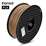 TIANSE Imprimante 3D Filament Wood Bois 1.75 mm 1KG
