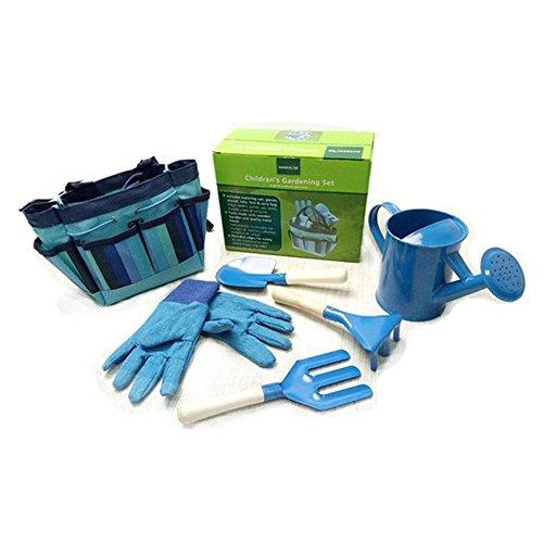 QUUY 6 pezzi piccolo set di attrezzi per giardiniere con attrezzi da giardino borsa per bambini...