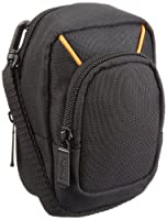 This convenient carrying case is perfect for large point-and-shoot cameras - plus the case has a zip-up pocket for other small items like additional memory cards or a charging/sync cable. Extra pocket for added storage (view larger).