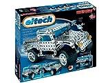 eitech 00009 Jeep - Juego de construcción de metal (446 piezas, incluye herramientas) [importado de Alemania]
