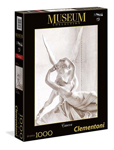 Clementoni - 39432 - Museum Collection Puzzle - Canova, Cupido e Psiche - 1000 Pezzi