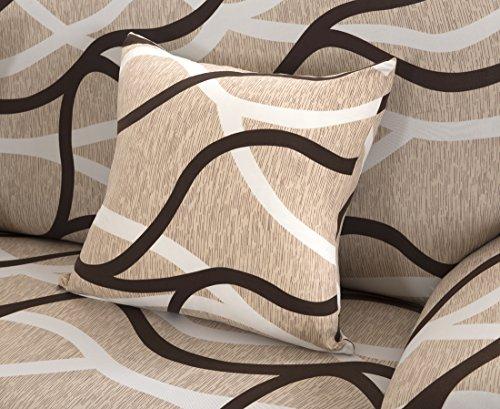 Set di federe per cuscino,confezione da 4 pezzi,con chiusura lampo,in tessuto morbido di...