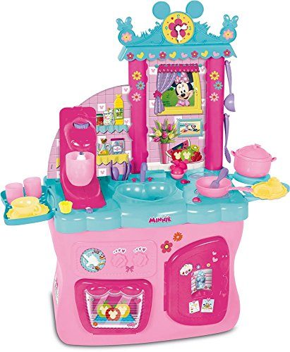 IMC Toys- Minnie Cucina ATTREZZATA, 181694MI4