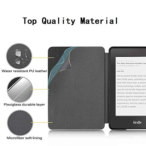 ProElite Deer Smart Flip case Cover for All Amazon Kindle Paperwhite 10th Generation (Deer Coffee) 8