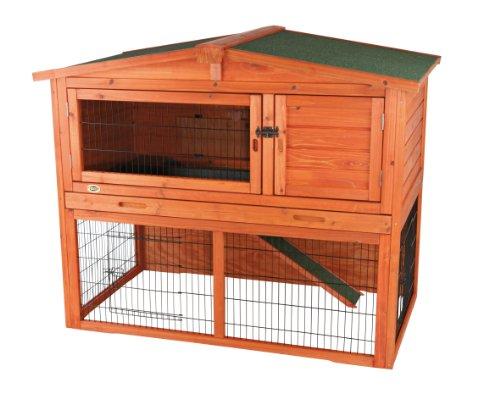 Kaninchenstall mit Freilaufgehege 62321 von Trixie, 123 × 96 × 76 cm