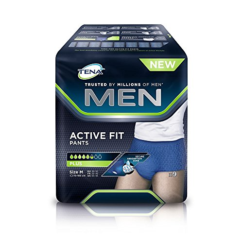 Tena Men Active Fit Pants M (Fianchi 75-105 cm) 108 pannoloni incontinenza uomo
