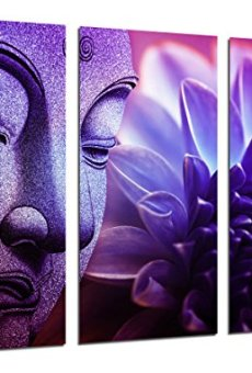 Cuadros Camara Fotográfico Buda, Relajacion, Zen, Relax, Buddha Tamaño total: 97 x 62 cm XXL, Multicolor