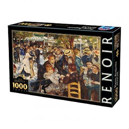 Puzzle 1000 pz Renoir dance at the moulin 68x47 cm *03232 giochi giocattoli