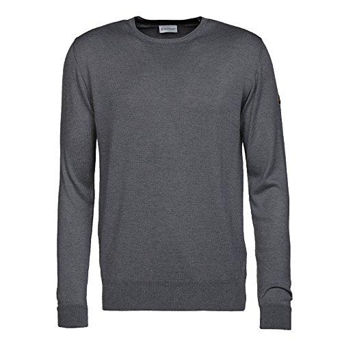 340cfc8e4a5d Moncler Men s Long Sleeve Jumper Grey Anthracite Grey