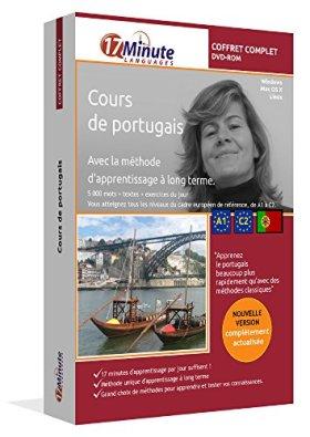 Cours de portugais : coffret complet (A1-C2). Logiciel pour Windows/Linux/Mac OS X. Apprendre le portugais avec la méthode unique d'apprentissage à long terme