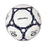 Optimum Classico Football/Soccer Ball, Black/Blue - Size 4