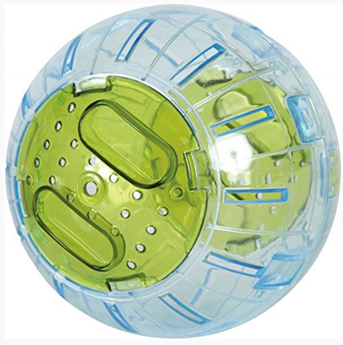 Palla da esercizio per criceto o topo Diametro: 12,5cm circa. Colore: verde anice.