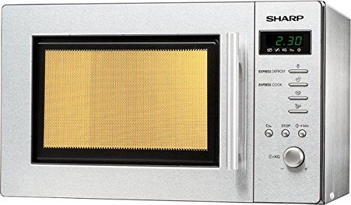 Sharp R-261STW – Microondas (10A, 46 cm, 38 cm, 27,5 cm) Acero inoxidable