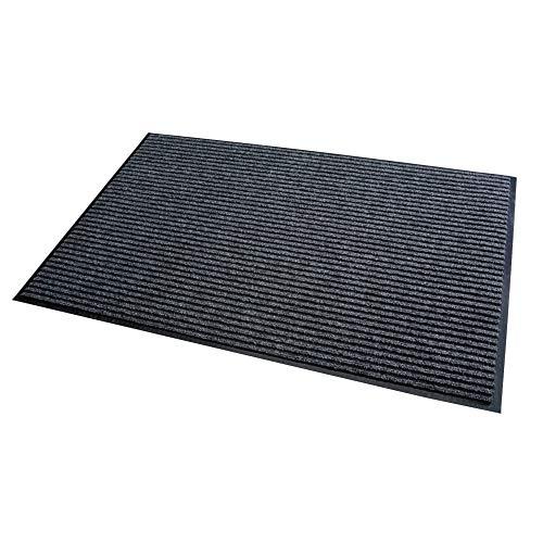 Stuoia della trappola della sporcizia grigio 40x60cm Tappeto pulito di funzionamento